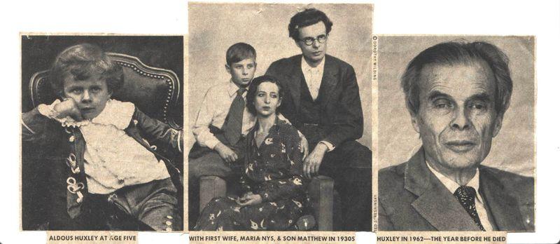 Aldous Huxley web